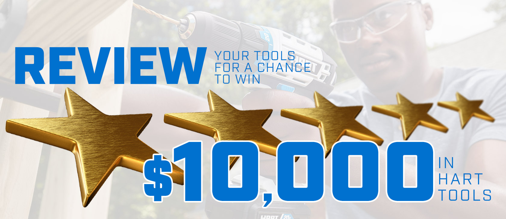 Graphic: Review HART Tools for a chance to Win $10000 in HART Tools